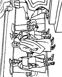 imagenes de jesus ante pilato jesús ante pilato dibujos bíblicos para colorear recursos