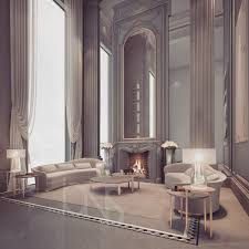 fireplace lounge by ions design ions design dubai pinterest