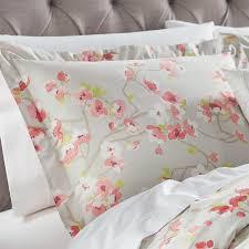 home decorators collection hana grey pink king pillow sham