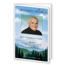 Funeral Programs Printing 24 Best Funeral Programs Images On Pinterest Funeral Program