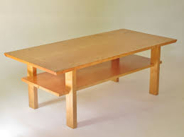 end table with shelves best solid wood coffee table in cherry walnut or tiger maple small