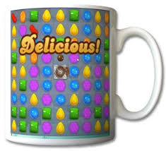 Gift Mugs With Candy Candy Crush Saga Delicious Mug Cup Gift Retro Amazon Co Uk