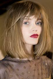 backstage at chanel love this haircut color is exquisite