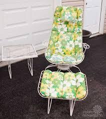 Retro Patio Chair 16 Piece Vintage Homecrest Patio Set All Original Magically