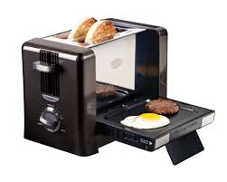 Tiny Toaster Breakfast Made Easy Via The Nostalgia Electrics Flip Down
