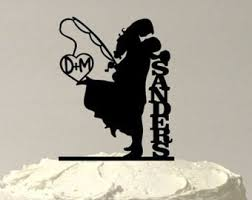 wedding cake outline wedding cake toppers etsy