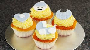 how to make cute baby cupcake toppers baby shower happyfoods