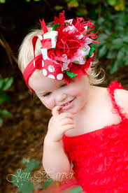 christmas hair bows buy big dot green christmas the top hair bow or baby