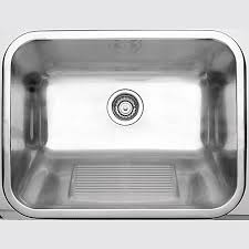 stainless steel laundry sink blanco stainless steel laundry tub 1 bowl topmount the home depot