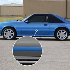 87 mustang parts a warped side molding on your 87 93 mustang gt or cobra