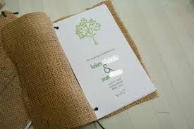 burlap wedding programs zandria s country chic wedding invitation with burlap pocket