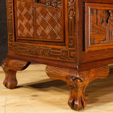 bureau style colonial bureau in carved wood for sale antiques com classifieds
