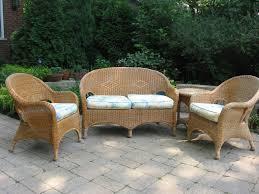 indoor patio furniture sets exterior exciting wicker loveseat for patio decor u2014 pichafh com