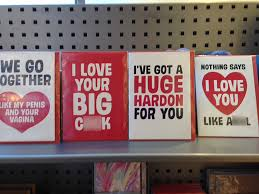 paperchase is under fire for x rated valentine u0027s cards displayed
