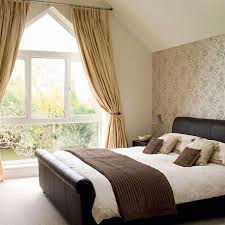 bedroom lovely attic bedroom ideas with brown bedroom curtains