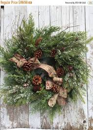 Decorated Christmas Wreaths Artificial by 25 Best Large Christmas Wreath Ideas On Pinterest Christmas