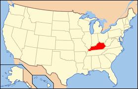 Kentucky Flags Kentucky Time Zones Map Timebie Buy Kentucky Road Map Kentucky