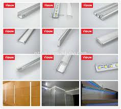 How To Mount Led Strip Lights by Led Strip Light Fixtures Aluminum Profile Strip Housing Flush