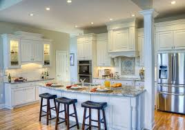 kitchen islands with columns kitchen island columns adorable gourmet styling in traditional white