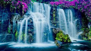 Hawaii waterfalls images Beautiful blue waterfall in hawaii jpg
