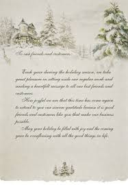 christmas card letter examples holliday decorations
