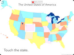 United States Maps Youtube Interactive Map Quiz Game United States Locations And Of