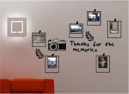 Wall Art Stickers And Decals by Photo Frame Wall Art Sticker Decal Kitchen Lounge Bedroom Ebay