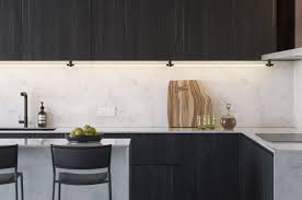 slim wall mounted kitchen cabinet thin surface mount display light