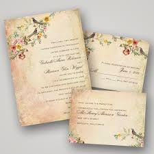 wedding invitation ideas vintage wedding invitations cloveranddot