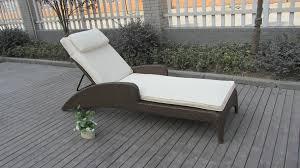 chaise longue ext rieur canapé extérieur d intérieur de sun de canne ensemble en osier de