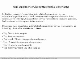 resume for customer service representative in bank bank customer service representative resume sle unique cover