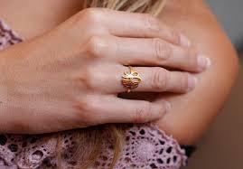custom initial rings gold monogram ring gold initial ring gold letter ring gold