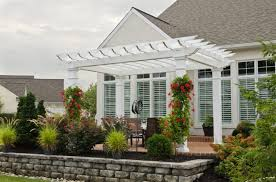 8 X 10 Pergola by Vinyl U0026 Wooden Pergolas Add Style To Your Home Penn Dutch