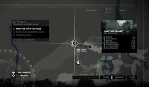 Lara Maps Mountain Village Treasure Map Gosunoob Com Video Game News U0026 Guides