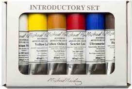 artist quality oil colours michael harding