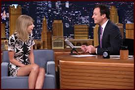 watch taylor swift teams up with jimmy fallon for u201cew u201d sketch
