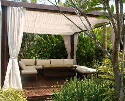Outdoor Cabana Curtains Awesome Outdoor Cabana Curtains Inspiration With 23 Modern Gazebo
