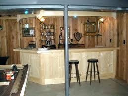 rustic basement ideas basement bar ideas justinlover info