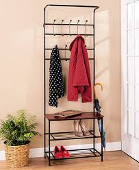 entryway rack entryway bench with coat rack ltd commodities entry way bench