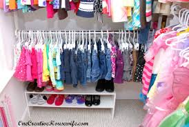 one creative housewife organizing my daughter u0027s closet