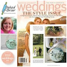 baked on briar in martha stewart weddings fall style issue 2014