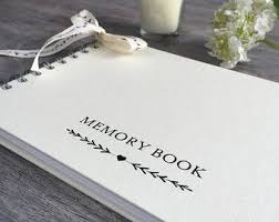 guest books for memorial service 19 best memory books images on memory books
