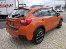 subaru orange crosstrek 2013 tangerine orange pearl subaru xv crosstrek 2 0 limited