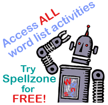 spelling list word list hard and soft c