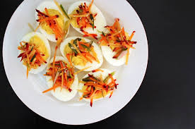 how to make delicious deviled eggs without mayonnaise u2013 yumyumutensils