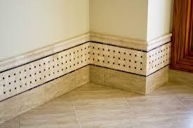 bathroom tile baseboard