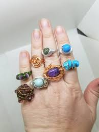 fine art rings images Three funky wire wrap rings with desiree 15 littlewood fine art jpg