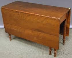 antique drop leaf gate leg table late federal cherry deep drop leaf gate leg dining table sale
