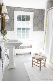 how i painted our bathroom u0027s ceramic tile floors a simple and