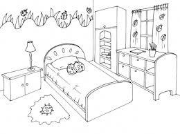 coloriage de chambre de fille coloriage decoration dune chambre de bebe idées de décoration